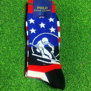 Ralph Lauren Polo Ski 92 Crew Socks